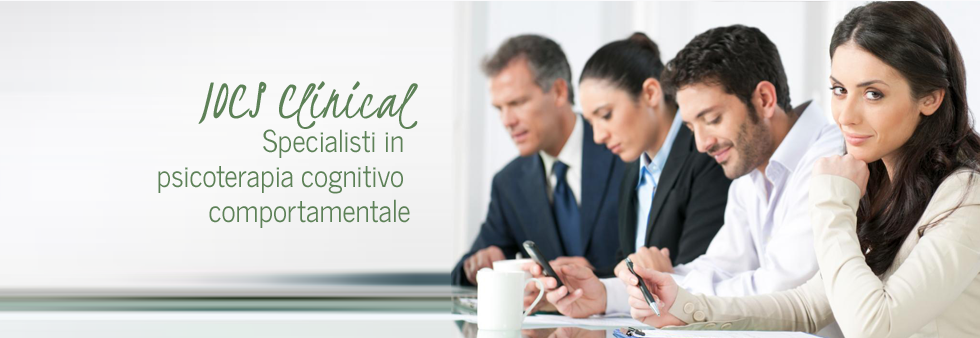 Iocs Clinical - Specialisti in psicoterapia comportamentale